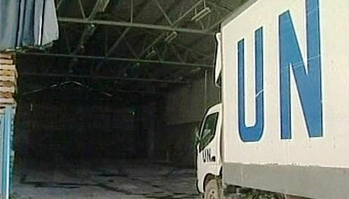 Humanitární dodávky OSN