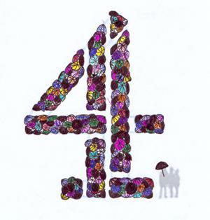 Logo britské stanice Channel 4