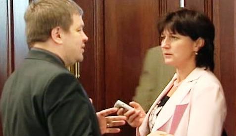 Olga Zubová a Petr Tluchoř