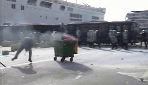 Protesty řeckých zemědělců