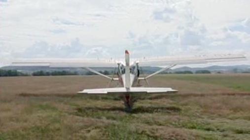 Startující letadlo