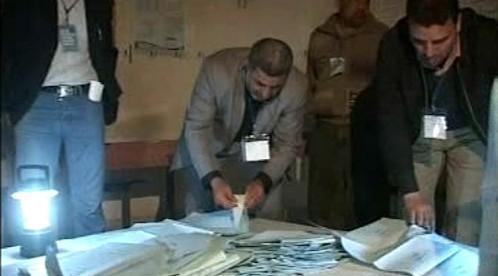 Sčítání hlasů po volbách