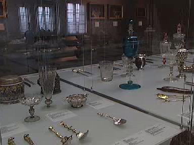 Vystavené exponáty z výstavy o řemeslech