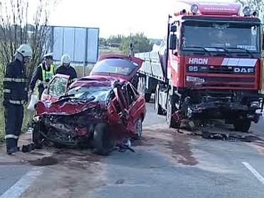 Nehoda v jižních Čechách