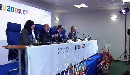 Brífink po neformální schůzce ministrů EU