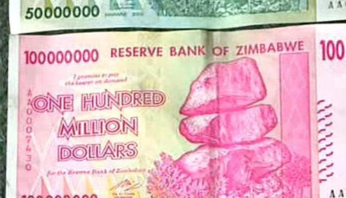 Zimbabwe se potýká s inflací