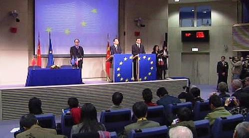 Schůzka zástupců EU a Číny v Bruselu
