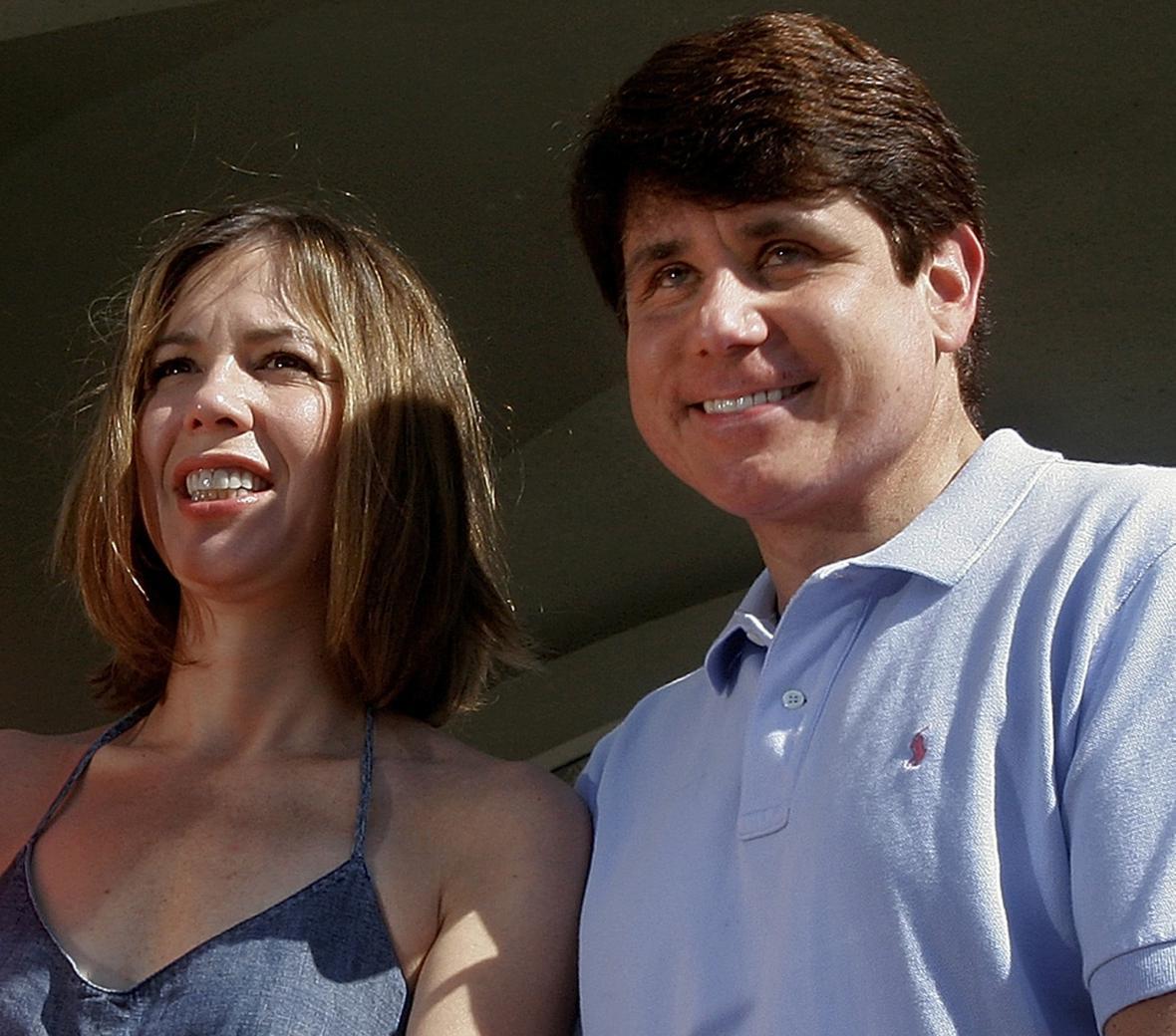 Rod Blagojevich s manželkou Patti