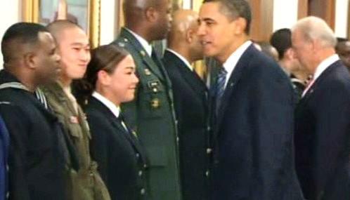 Obama na návštěvě Pentagonu