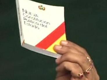 Nová ústava Bolívie