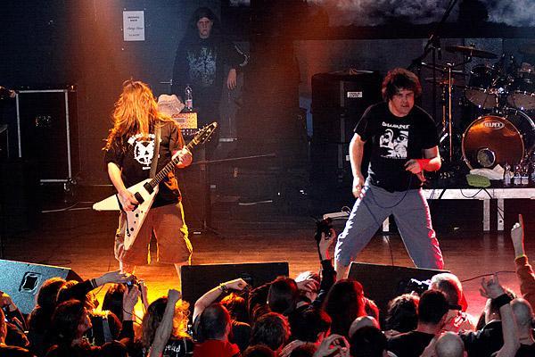 """Mitch Harris & Mark \""""Barney\"""" Greenway - Napalm Death"""