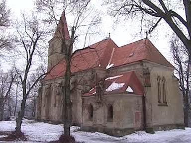 Kostel ve Velichově