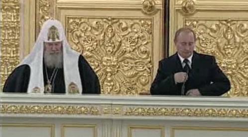 Patriarcha Alexij II. a Vladimir Putin
