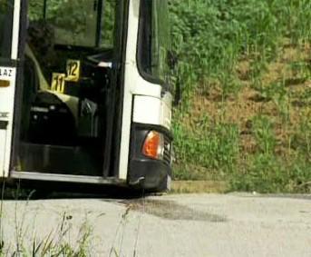 Autobus napadený střelcem