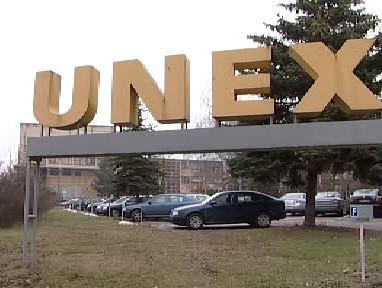 Logo firmy UNEX Uničov