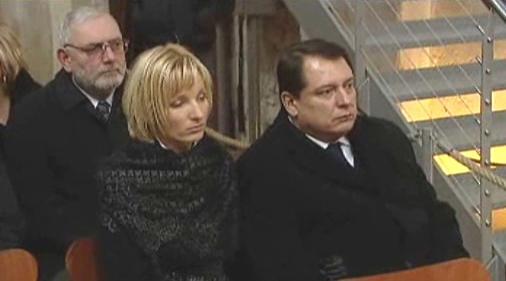 Jiří Paroubek a jeho manželka v Pražské křižovatce
