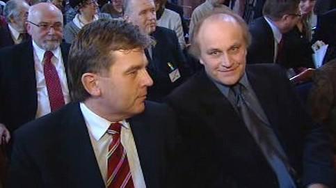 Miloslav Vlček a Michael Kocáb