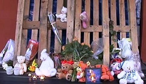 Vzpomínka na vraždu dětí v jeslích v Belgii