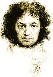 Francisco Goya- autoportrét