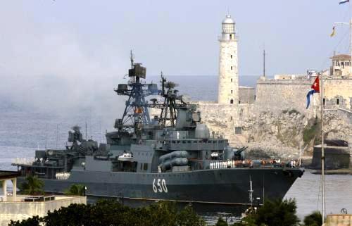 Ruská loď Admirál Čabaněnko