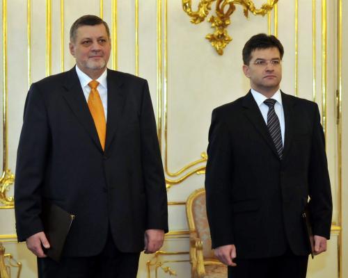 Ján Kubiš a Miroslav Lajčák