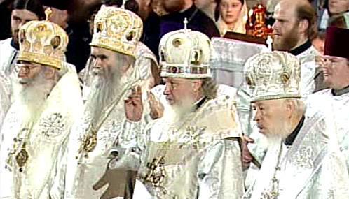 Pohřeb patriarchy Alexije II.