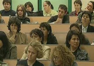 Studenti v posluchárně