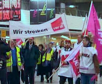 Letecká stávka v Německu