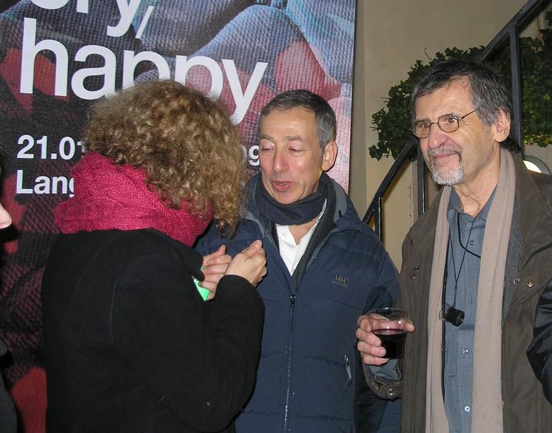 Bill Jacobson a Pavel Dias