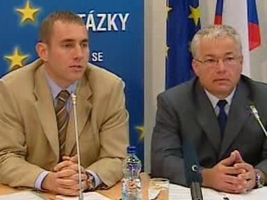 Jan Březina a Martin Jahn