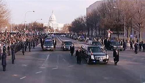 Obama na cestě do Bílého domu