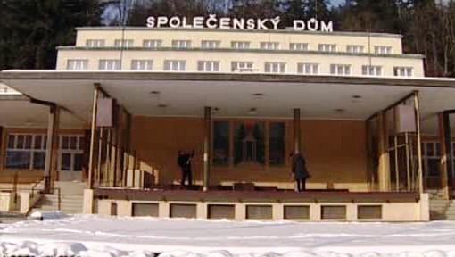 Lázeňský Společenský dům v Luhačovicích
