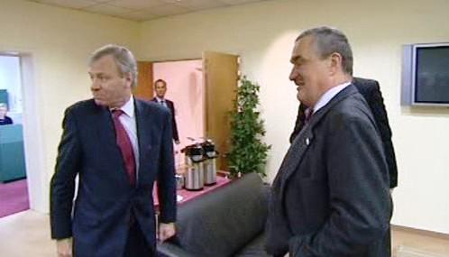 Jaap de Hoop Scheffer a Karel Schwarzenberg