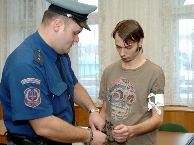 Bronislav Zotyka u soudu