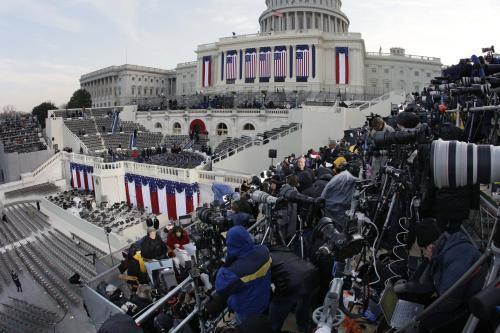 Přípravy na inauguraci Baracka Obamy