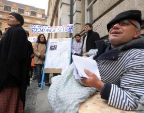 Protest sociálních pracovníků