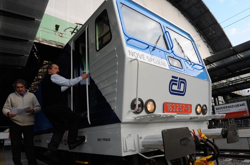 Nové barevné provedení lokomotiv ČD