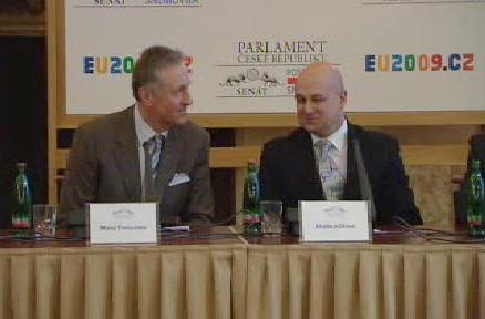 Účastníci diskuse o českém exportu