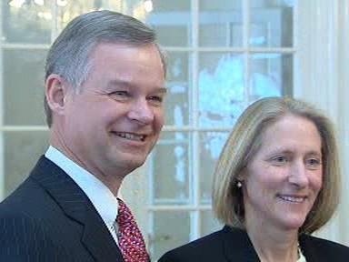 Richard Graber s manželkou