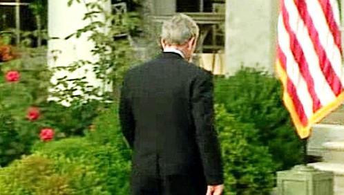George Bush odchází...