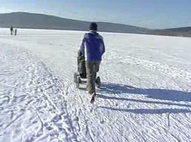 Ledová dráha na Lipně