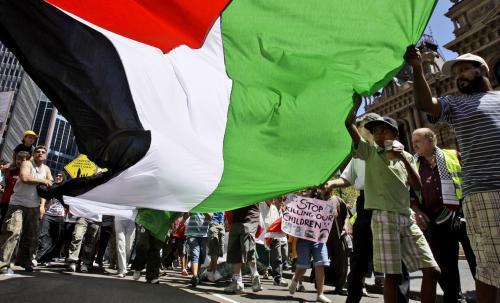 Protesty vůči izraelské ofenzivě