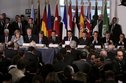Účastníci egyptského summitu