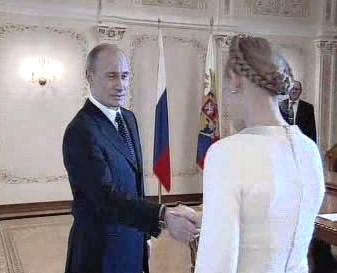 Putin a Tymošenková