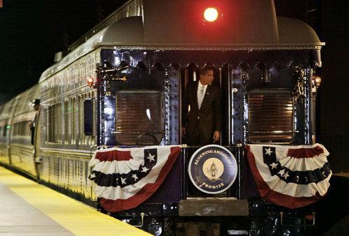 Obama jede na svou inauguraci