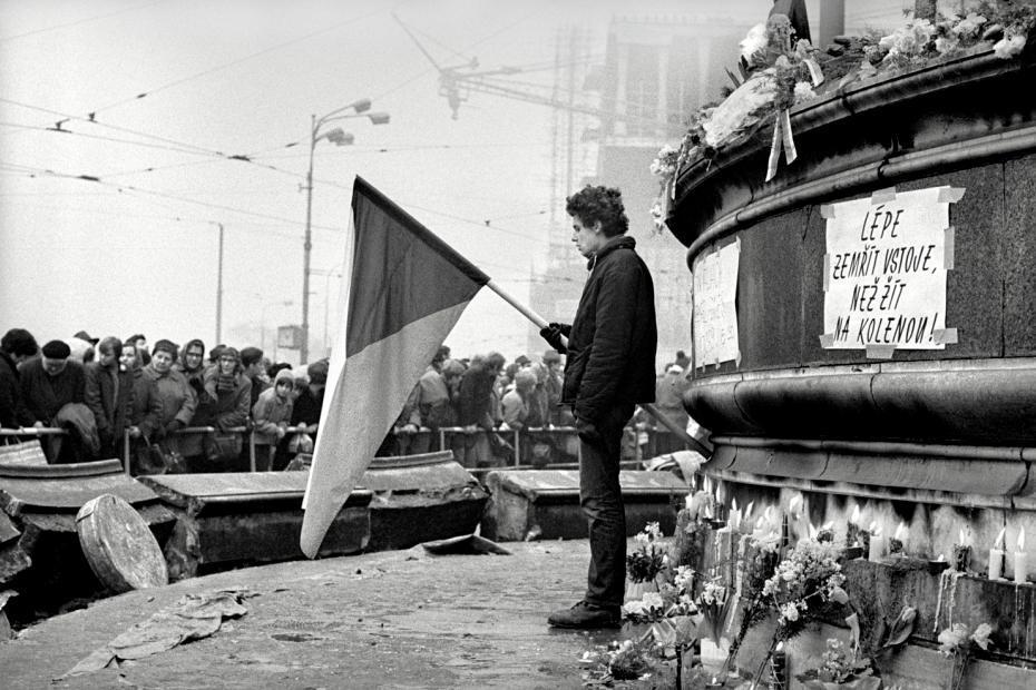 Z výstavy Jan Palach 16. 1. – 25. 1. 1969