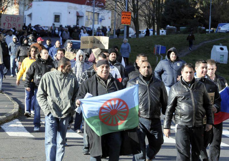 Protest proti demonstraci Dělnické strany