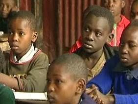 Keňští školáci