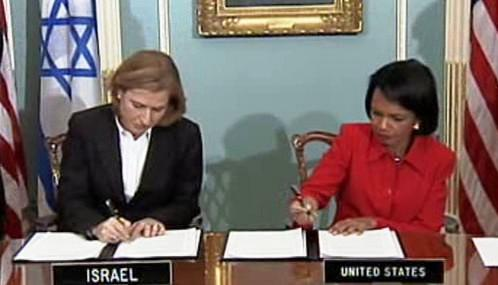 Cipi Livniová a Condoleezza Riceová