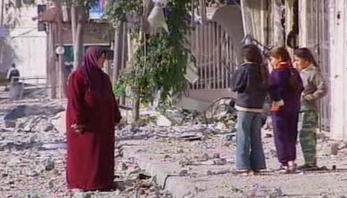 Následky bojů v Gaze